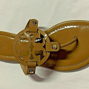 RIGHT SANDAL ONLY TORY BURCH SIZE   9 MILLER TAN